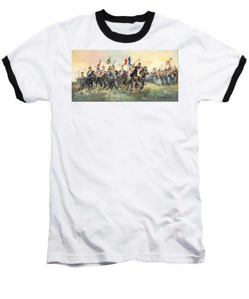 The Battle Of Austerlitz Baseball T-Shirt