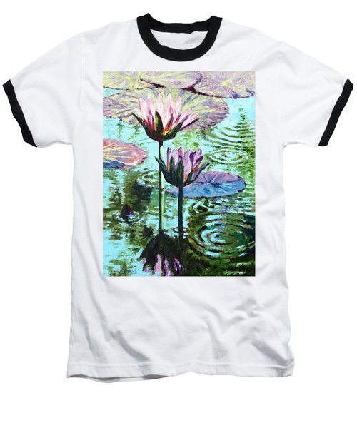 The Beauty Of The Lilies Baseball T-Shirt by John Lautermilch