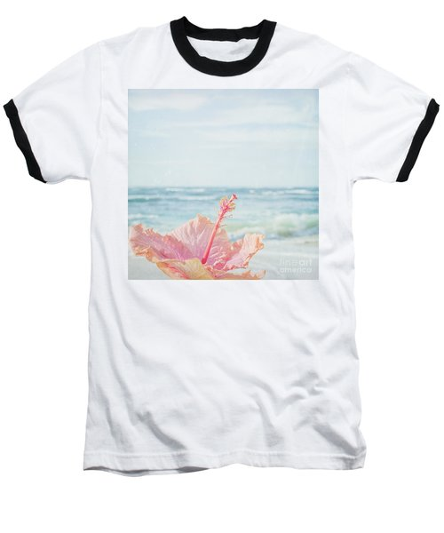 Baseball T-Shirt featuring the photograph The Blue Dawn by Sharon Mau