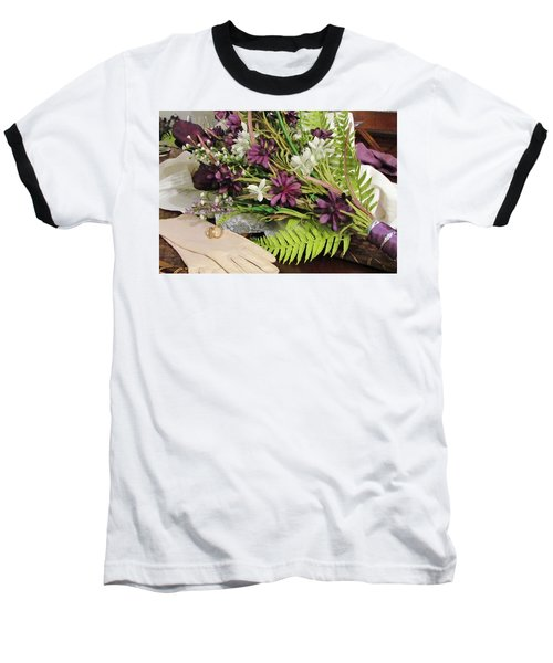 Baseball T-Shirt featuring the photograph The Bride To Be by Cynthia Guinn