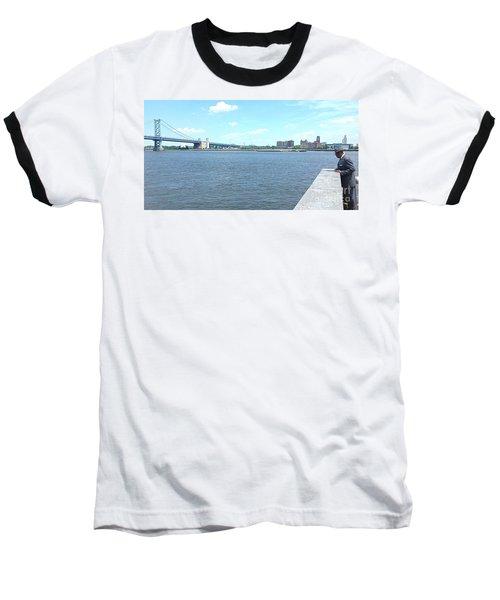 The Bridge And The River Baseball T-Shirt