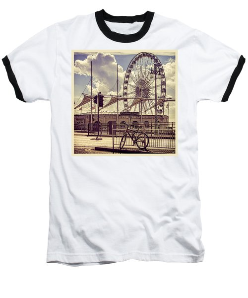 Baseball T-Shirt featuring the photograph The Brighton Wheel by Chris Lord