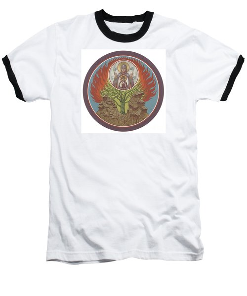 Baseball T-Shirt featuring the painting The Burning Bush 249 by William Hart McNichols