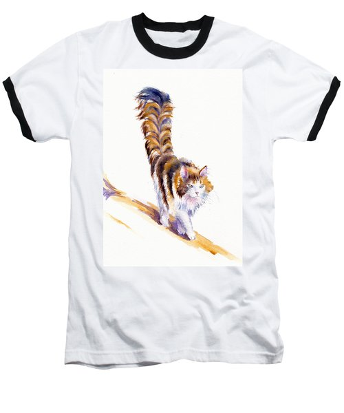 The Calico Cat That Walked By Himself Baseball T-Shirt