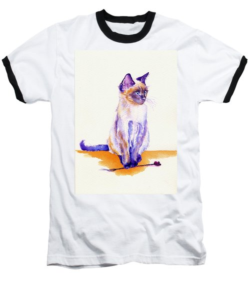 The Catmint Mouse Hunter Baseball T-Shirt