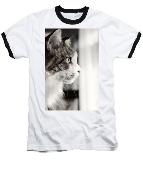 The Cat's Meow Baseball T-Shirt