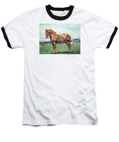Baseball T-Shirt featuring the painting The Champ by Donna Tucker