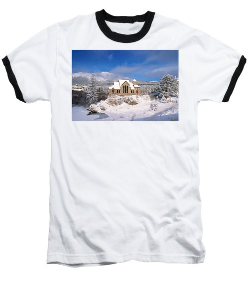 The Chapel On The Rock 3 Baseball T-Shirt