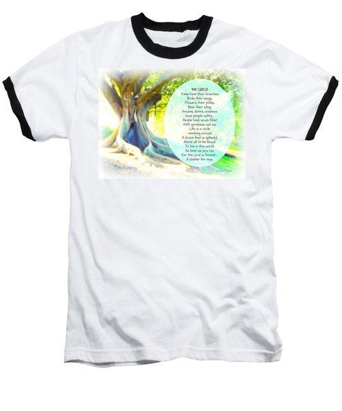 The Circle Baseball T-Shirt by Leanne Seymour