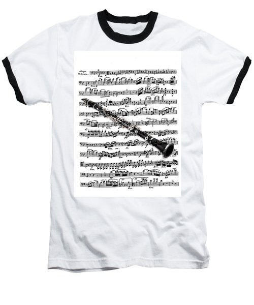 The Clarinet Baseball T-Shirt by Ron Davidson