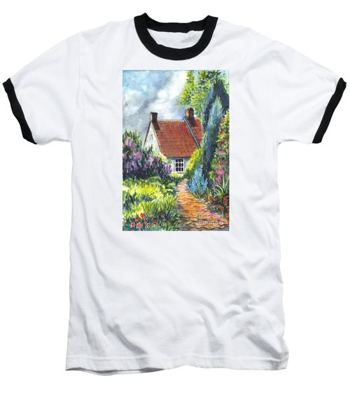 The Cottage Garden Path Baseball T-Shirt