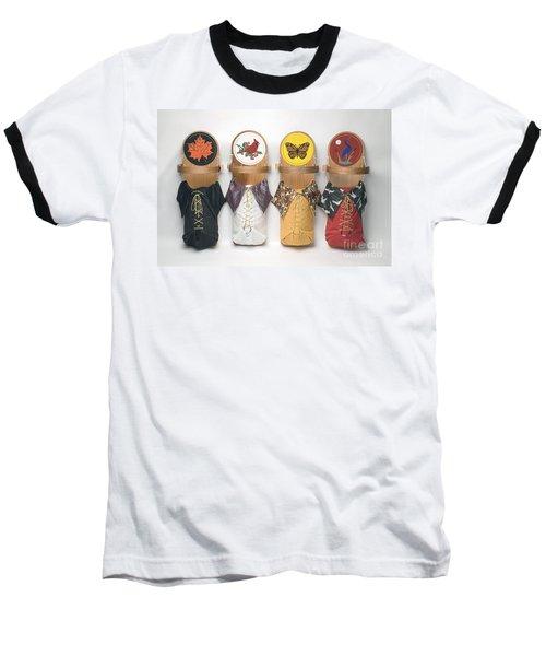 Four Seasons Cradleboards Baseball T-Shirt