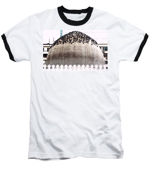 Baseball T-Shirt featuring the photograph The Dome Of The Mosque by Ethna Gillespie