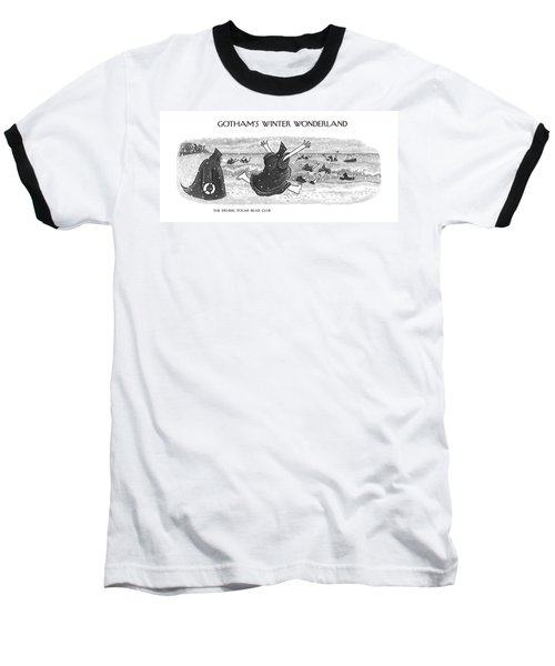 The Druidic Polar Bear Club Baseball T-Shirt