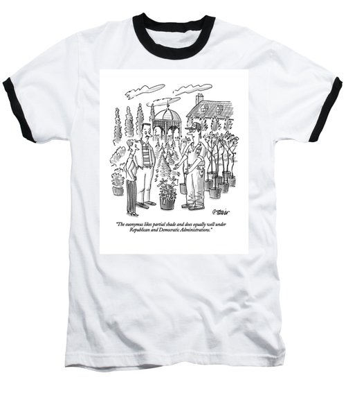 The Euonymus Likes Partial Shade And Does Equally Baseball T-Shirt