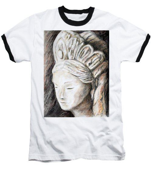 The Face Of Quan Yin Baseball T-Shirt