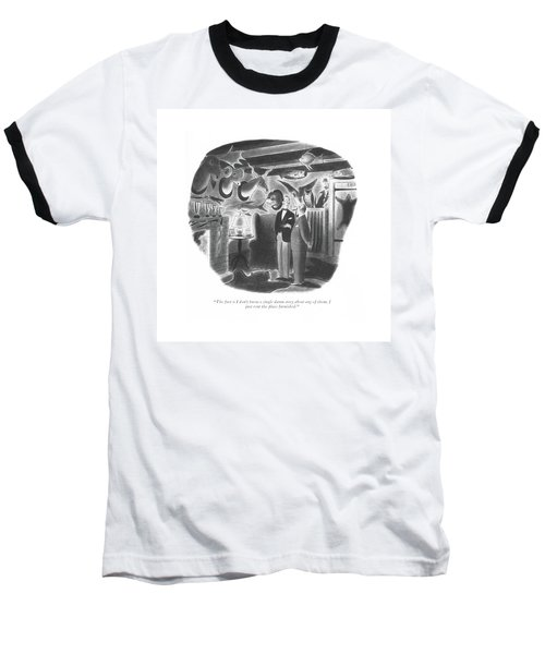 The Fact Is I Don't Know A Single Damn Story Baseball T-Shirt
