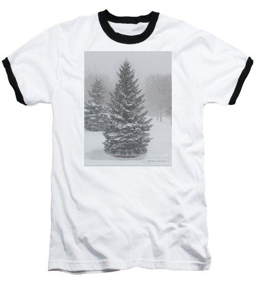 The First Snow Of Christmas Baseball T-Shirt