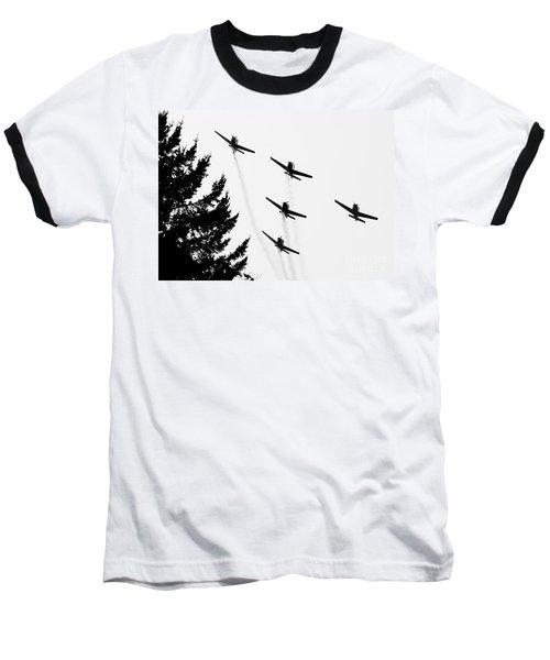 The Fly Past Baseball T-Shirt