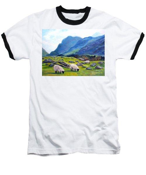 The Gap Of Dunloe Kilarney Ireland Baseball T-Shirt