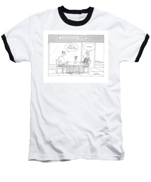 'the Girl Who Can't Say No Meets The Boy Who Baseball T-Shirt