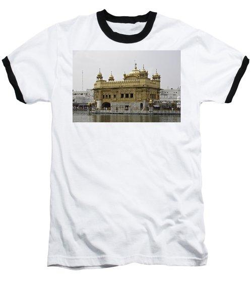 The Golden Temple In Amritsar Baseball T-Shirt by Ashish Agarwal
