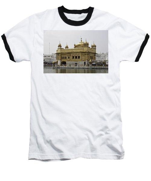 The Golden Temple In Amritsar Baseball T-Shirt