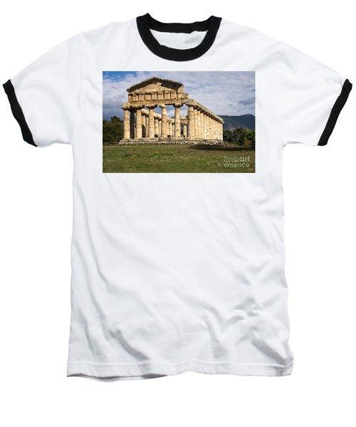The Greek Temple Of Athena Baseball T-Shirt