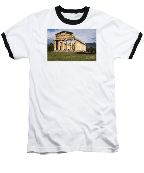 The Greek Temple Of Athena Baseball T-Shirt
