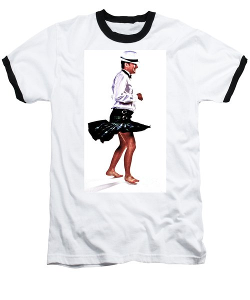 The Happy Dance Baseball T-Shirt by Xn Tyler
