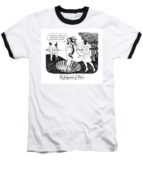 The Judgment Of Paris Baseball T-Shirt