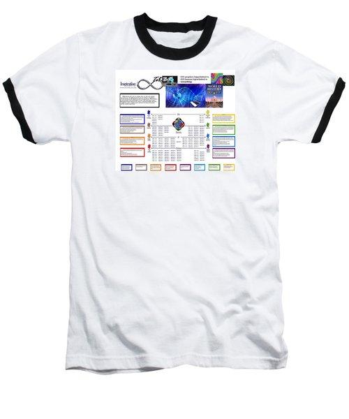 Lightspeed Reading  Baseball T-Shirt by Peter Hedding