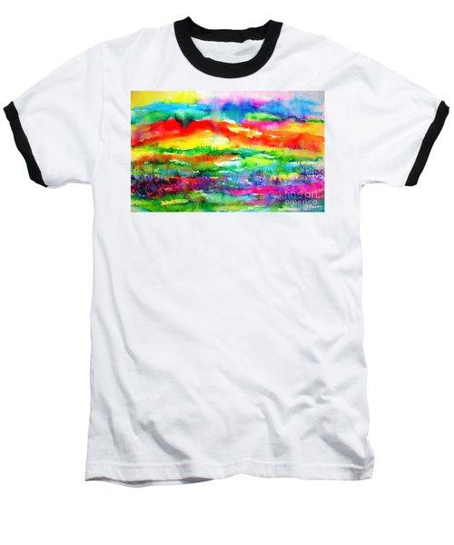 The Living Desert Baseball T-Shirt by Hazel Holland