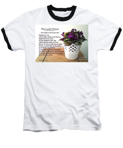 The Lords Prayer Baseball T-Shirt