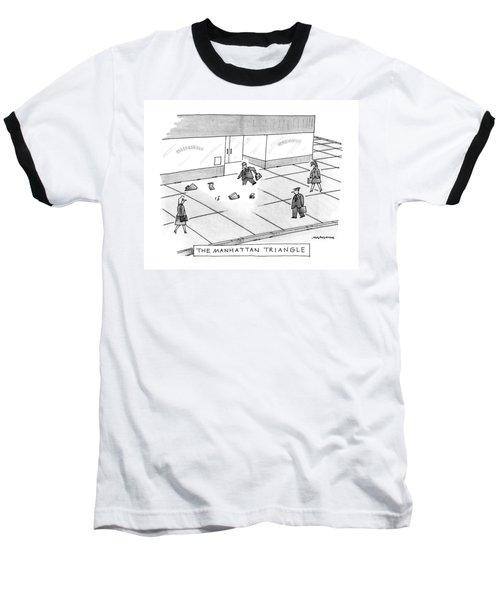 The Manhattan Triangle Baseball T-Shirt