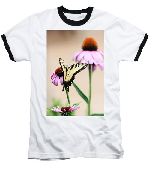 Baseball T-Shirt featuring the photograph The Swallowtail by Trina  Ansel