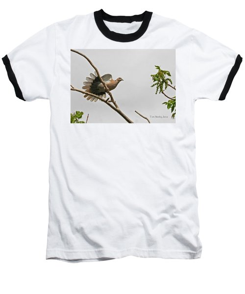 Baseball T-Shirt featuring the photograph The New Dove In Town by Tom Janca