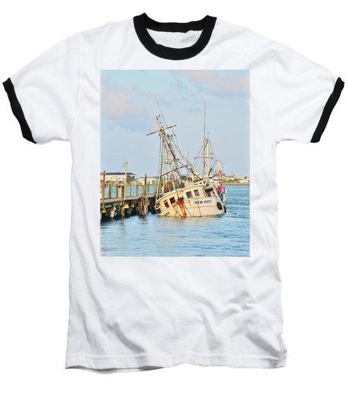 The New Hope Sunken Ship - Ocean City Maryland Baseball T-Shirt