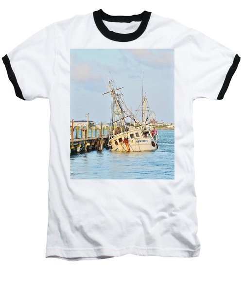 The New Hope Sunken Ship - Ocean City Maryland Baseball T-Shirt
