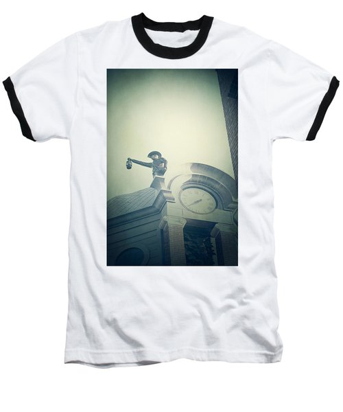 Baseball T-Shirt featuring the photograph The Night Watchman by Trish Mistric