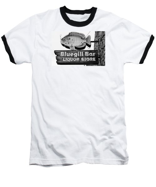 The Old Watering Hole Baseball T-Shirt by Bruce Bley