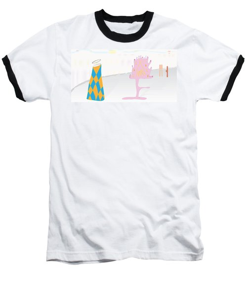 The Partygoers Baseball T-Shirt