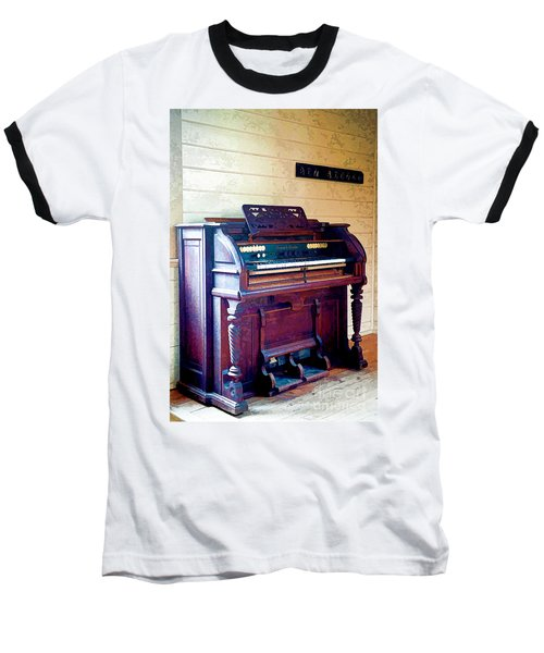 The Piano Baseball T-Shirt by Yew Kwang