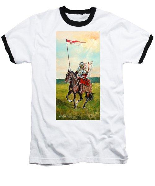 The Polish Winged Hussar Baseball T-Shirt