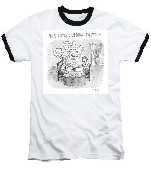 The Projecting Psychic Baseball T-Shirt