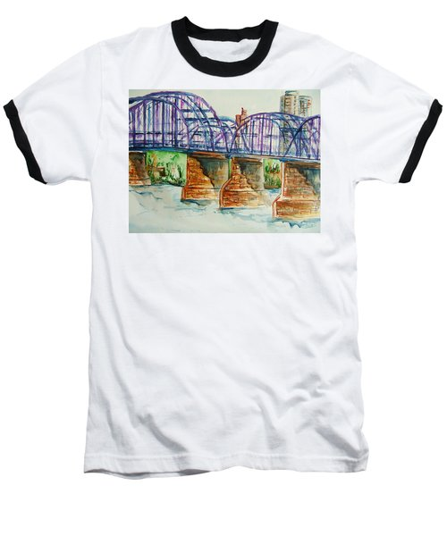The Purple People Bridge Baseball T-Shirt