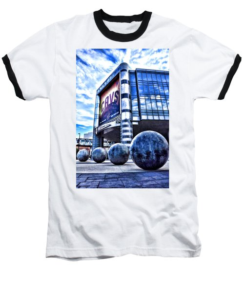 The Q - Home Of The 2016 Nba Champion Cleveland Cavaliers - 1 Baseball T-Shirt
