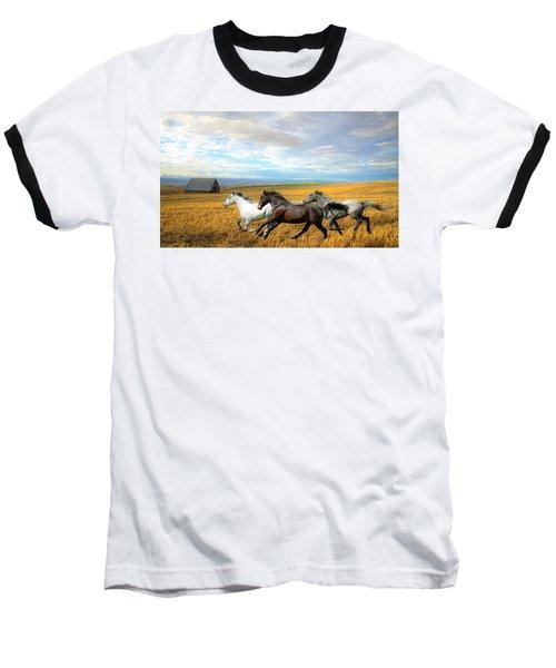 The Race Baseball T-Shirt