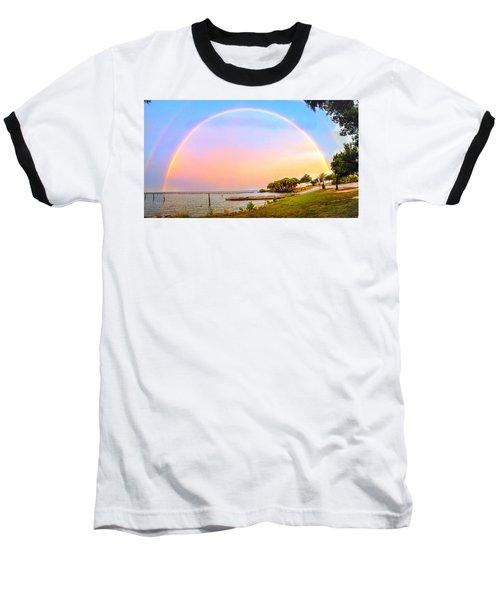 The Rainbow Baseball T-Shirt by Carlos Avila