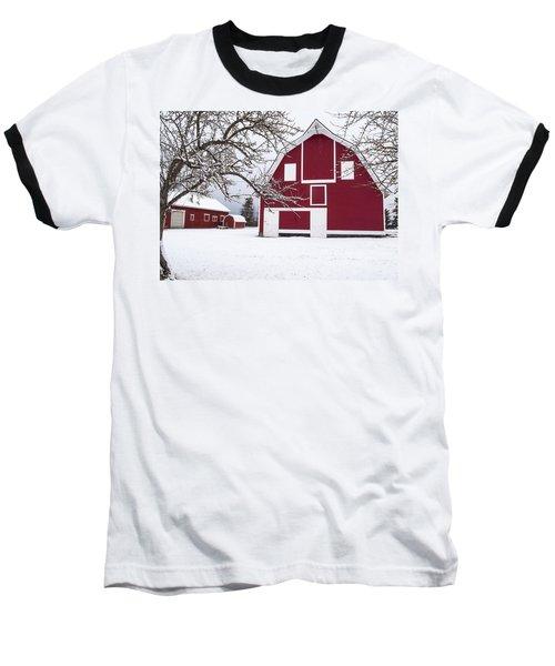 The Red Barn Baseball T-Shirt